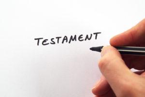 Handschriftliches Testament